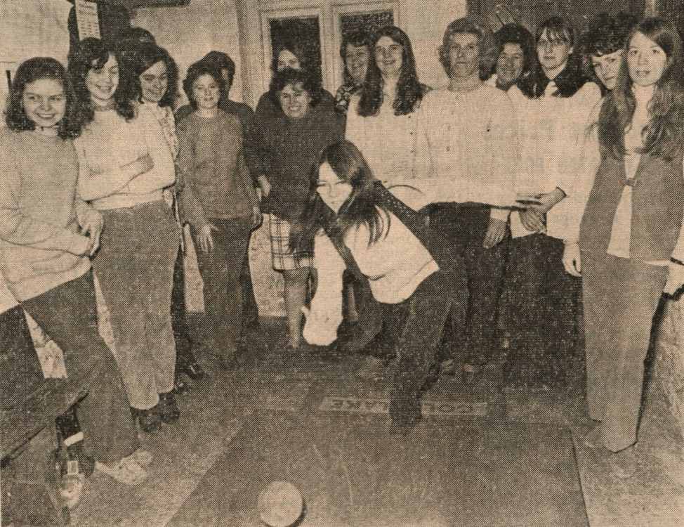 Buckland Brewer Womens Skittle Competition 10 Mar 1972
