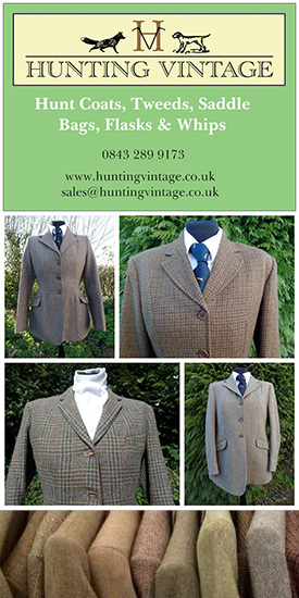 Hunting Vintage hunt coats tweeds saddle bags flasks whips