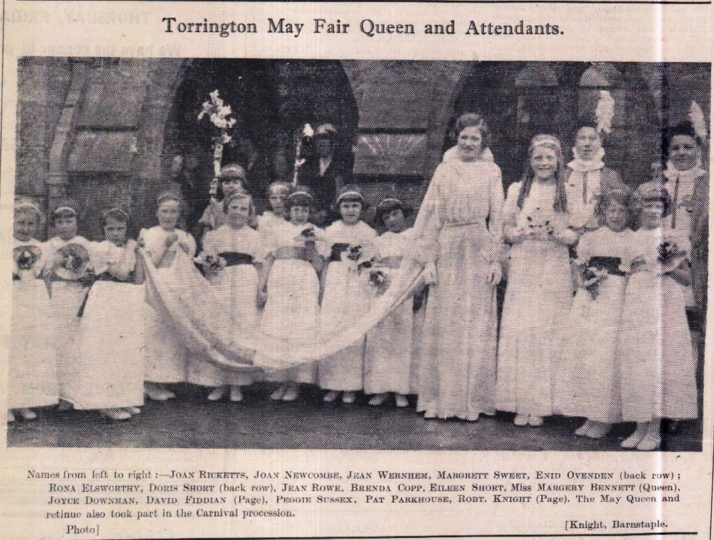 Torrington May Fair Queen