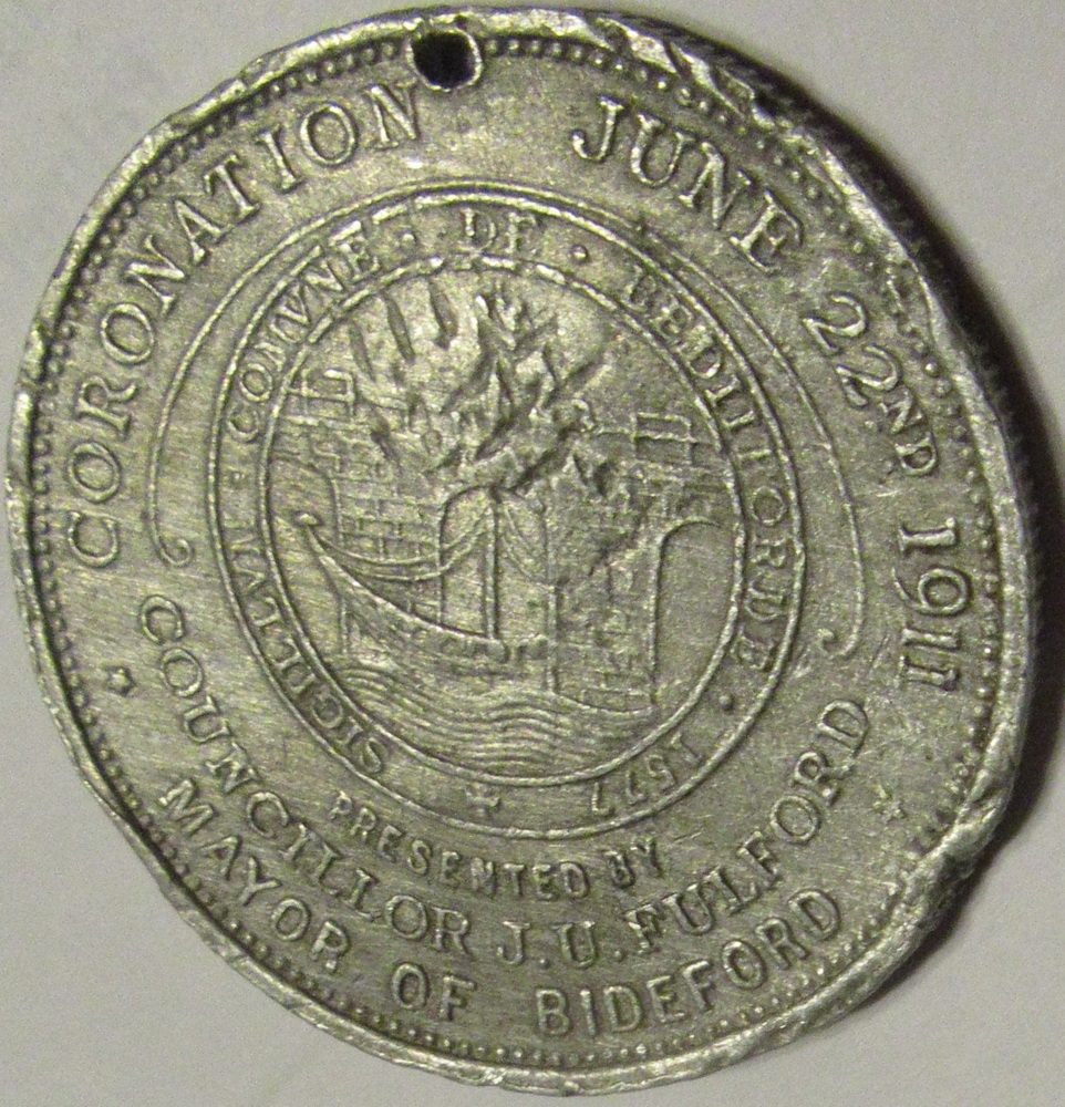 Coronation Medal - obverse