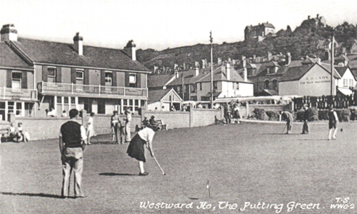 The Putting Green Westward Ho!