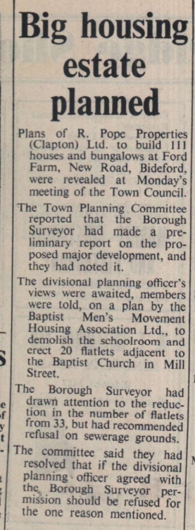 23.6.1972 housing estate Bideford