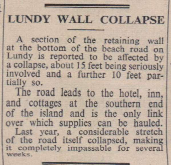 12.12.69 Lundy Wall