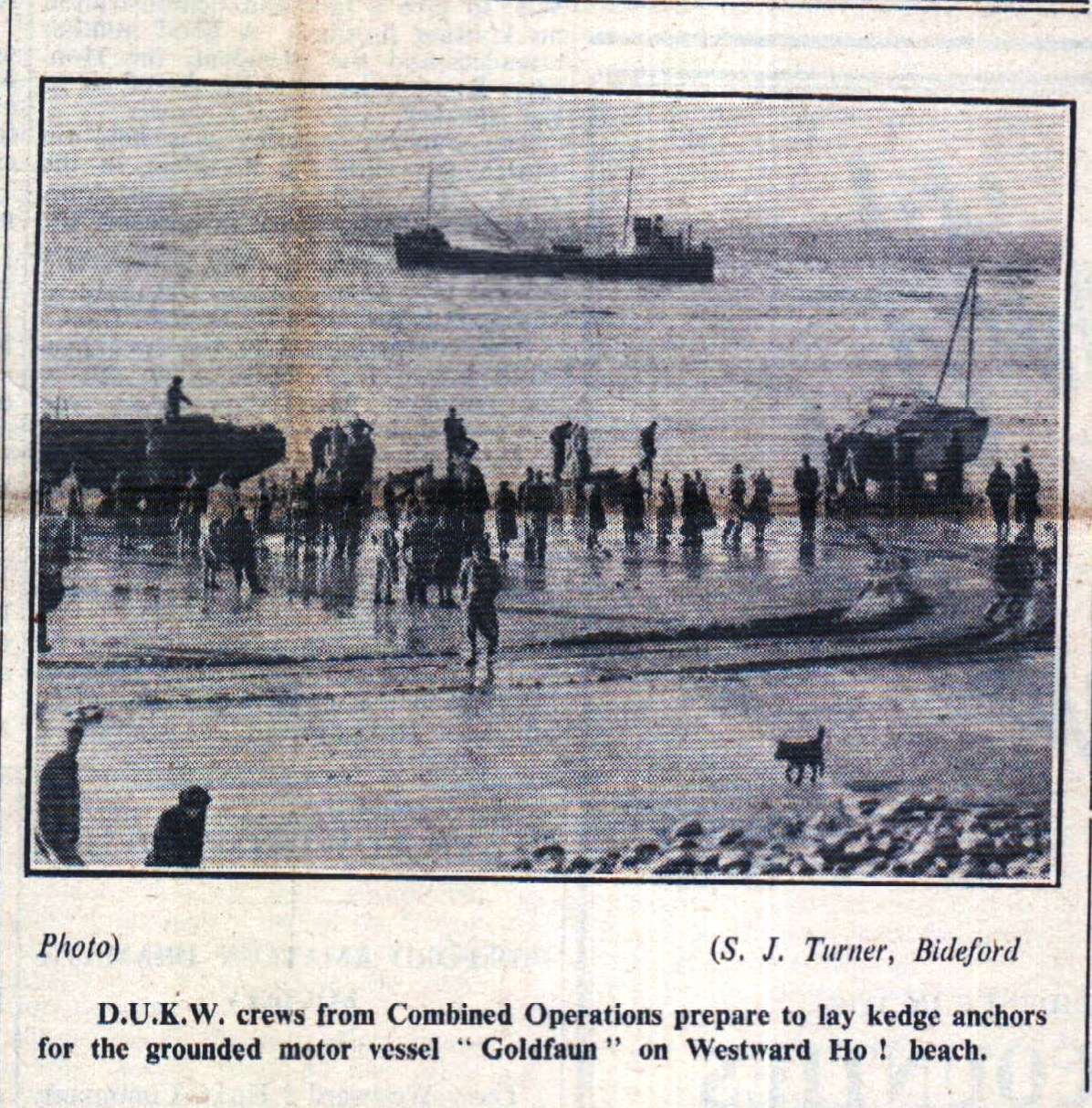 22.3.1951 Ship Aground at WHo1