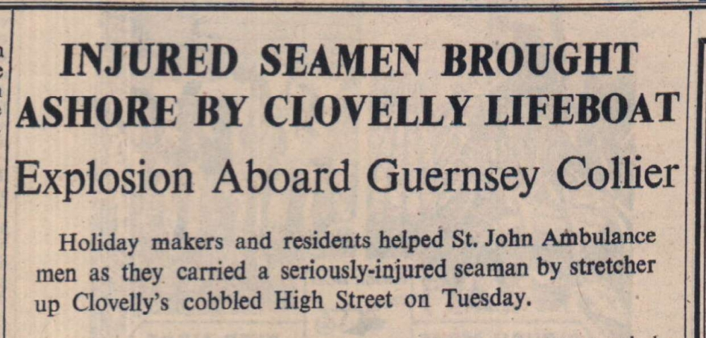 28.9.1951 Clovelly Lifeboat1