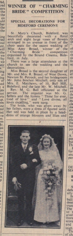 19.10.1951 Charming bride competition