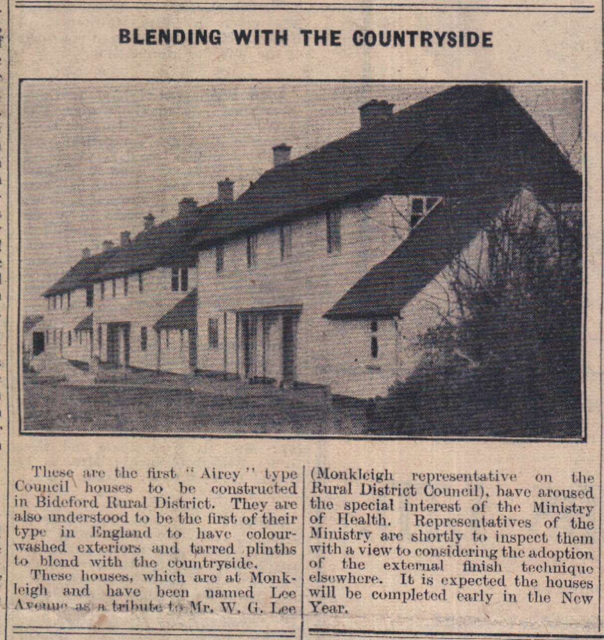6 January 1948 Airey type Council houses