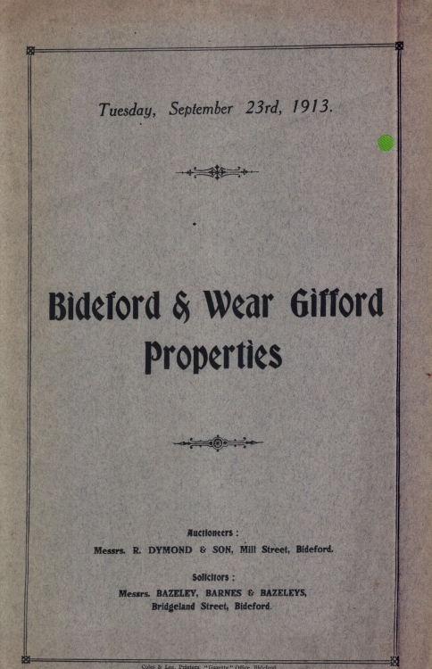 Weare Giffard properties
