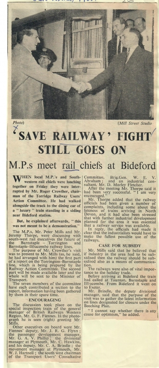 Save railway fight still goes on