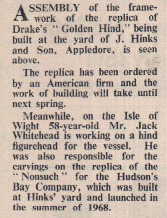 18.2.1972 Golden Hind2