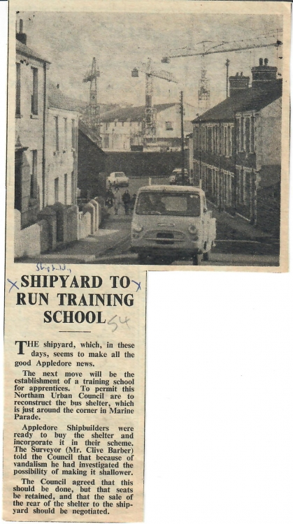 shipyard to run training school