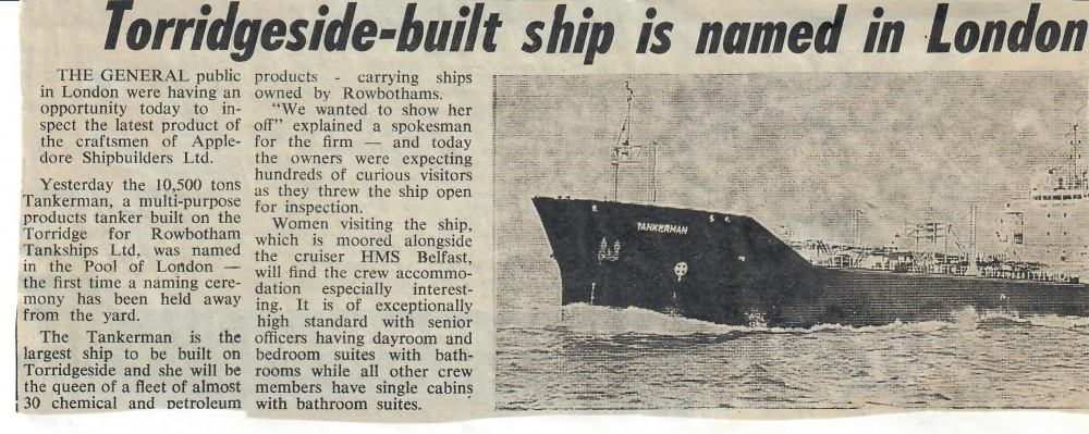 torridgeside built ship