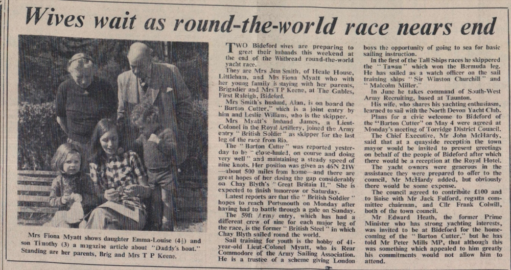 11.4.1974 Round the World