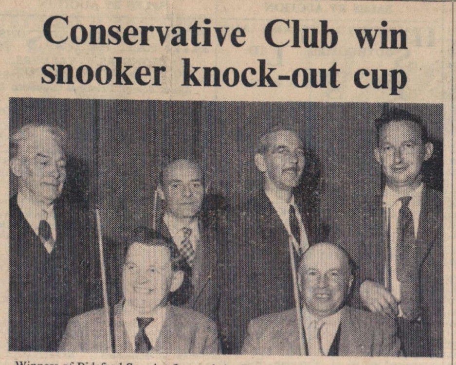 3 April 1959 Conservative snooker1
