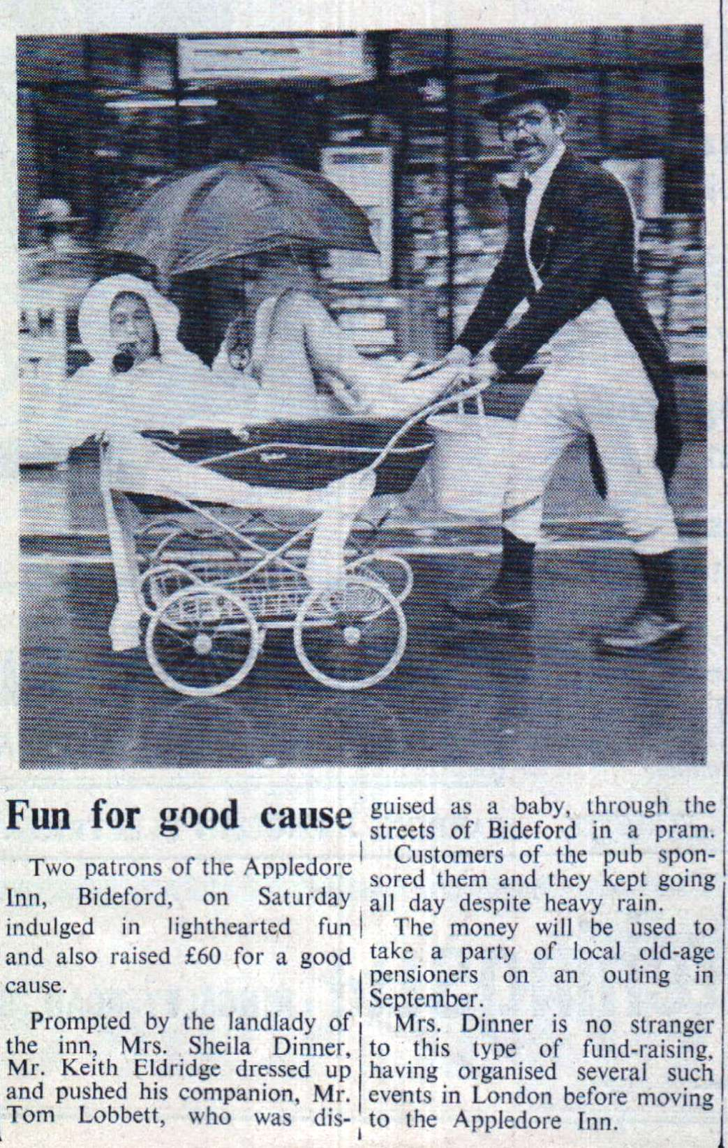 14 July 1972   fun for good cause