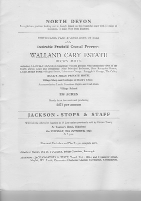 Wolland Cary Estate sale2