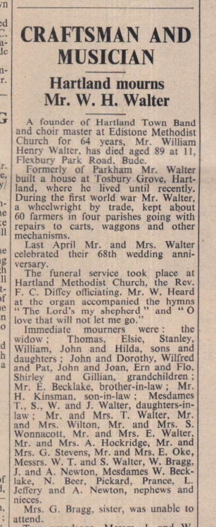 11.1.1963 Walter funeral