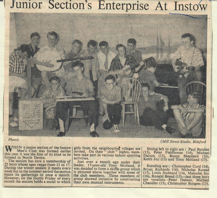Junior sections enterprise at Instow