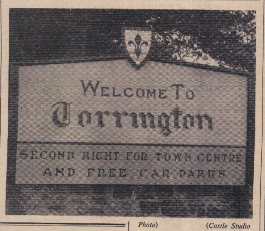 14.7.1961 Torrington car parks