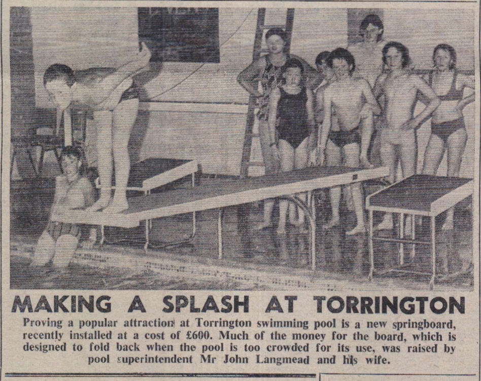 1978 Torrington pool