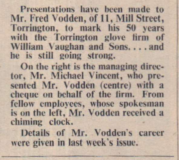 September 1964 Vodden