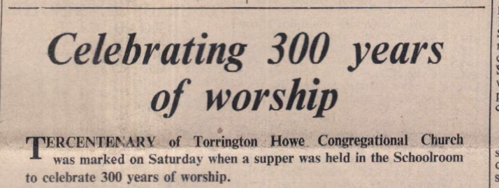 1962 300 years of worship