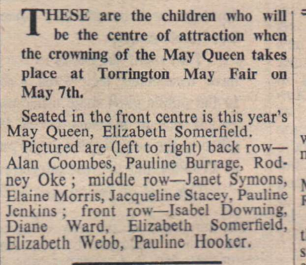 3 April 1959 Torrington May Fair2
